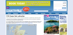 Countryfile: Game Shows, map 2009